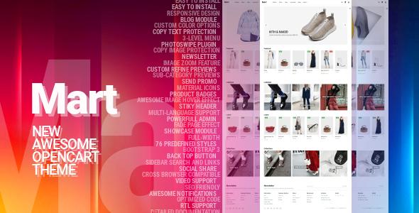 Mart OpenCart Theme