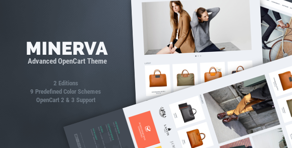 Minerva OpenCart Theme
