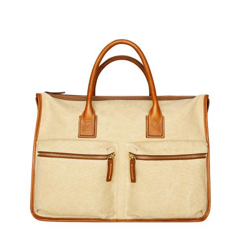 Canvas Messenger laptop bag