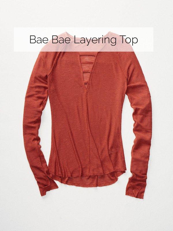 Bae Bae Layering Top