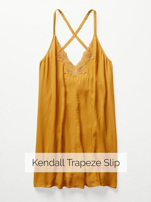 Kendall Trapeze Slip
